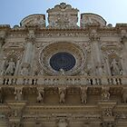 The basilica of Santa Croce in Lecce by Fabio Procaccini