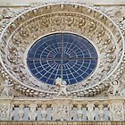 Basilica of Santa Croce - rose window by Fabio Procaccini