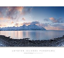 Lofoten Islands - Panorama by Andreas Stridsberg