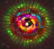 'Light Flame Abstract 213' by Scott Bricker