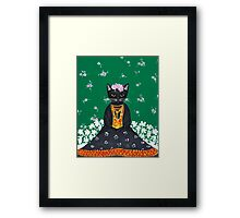 Frida Catlo Framed Print