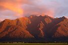 Fox Glacier Valley Sunset, South Island, New Zealand by Michael Boniwell