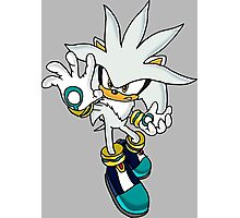 Silver da Hedgehog man Photographic Print
