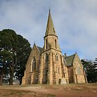 Old Church at Ross Tasmania by Mark Ashton