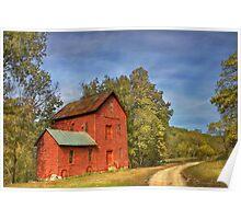 Topaz Mill in Rural Douglas County Missouri Poster