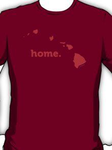 Hawaii Home Red T-Shirt