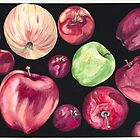 Fun Apples by psovart