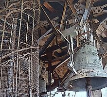 The Bell of St. Mark's Tower in Venice by Margie Avellino