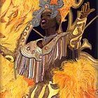 Carnival Yellow Lady by psovart