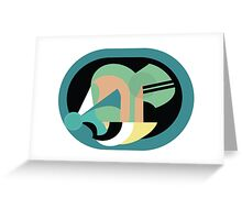 Abstract '80s 11 Greeting Card