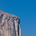 cliff face at yosemite by pmacimagery