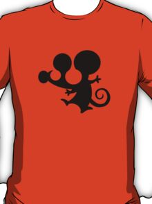 mouse stencil mickey cartoon T-Shirt