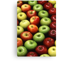 An Apple A Day Canvas Print