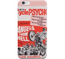 Angels From Hell (Pink) iPhone Case/Skin