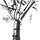 typographic tree II (Spedini) by Martulia