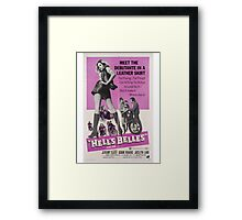 Hell's Belles (Purple) Framed Print