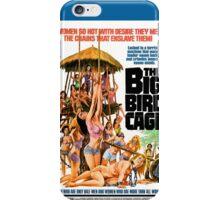 The Big Bird Cage (Blue) iPhone Case/Skin