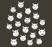 Twenty Cats by nic squirrell