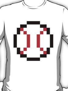 8 Bit Baseball T-Shirt