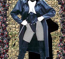 Girl in a Long Black Coat by Phaedra