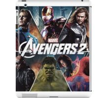 the avengers age of ultron iPad Case/Skin