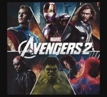 the avengers age of ultron by ghostship