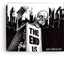 The End Is... Canvas Print
