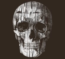 Ripped Up Skull by tastypaper
