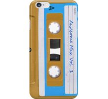 Awesome Mix Tape vol 1 iPhone Case/Skin