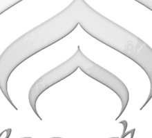 Warframe Lotus - Chrome Sticker