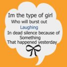 type of girl by 1chick1