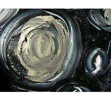 SILVER MOON - ABSTRACT Photographic Print