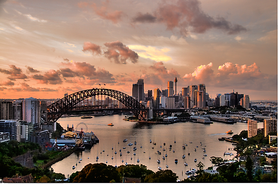 Sailors Warning -Sydney - Moods Of A City - The HDR Experience by Philip Johnson