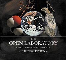 Open Laboratory 2008 - book cover by Glendon Mellow