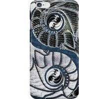 Ying Yang Dragons Equality Fractal Design by CAP iPhone Case/Skin