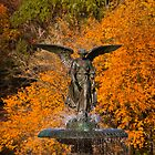 angel of the waters fountain by marianne troia