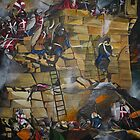 8th September 1565- The Great siege of Malta by Robert Henry Bugeja