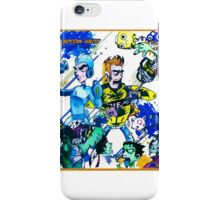 Capcom zombies iPhone Case/Skin