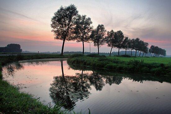 Quiet Evening by Jo Nijenhuis