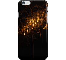 Lightforms in night photography  iPhone Case/Skin