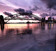 Lavender Bay - Moods Of A  City -  The HDR Experience by Philip Johnson