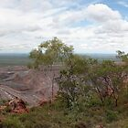 Argyle Diamond Mine from East Ridge, Jan 2009 by Simon Blears