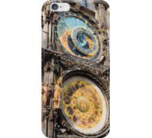 Astronomical Clock in Prague iPhone Case/Skin