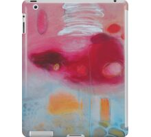 Cotton Candy,Pink Abstract Giclee print,Pink white Giclee Print,Abstract Painting,Large Abstract Painting,Pink Blue Art Print,Pink wall art iPad Case/Skin