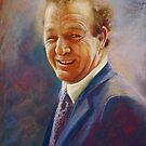 Portrait of Dick  by Lynda Robinson