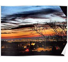 Scottsdale Sunset Poster