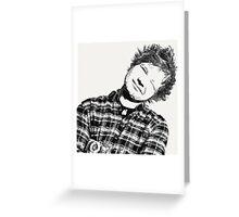 Ed Sheeran Greeting Card