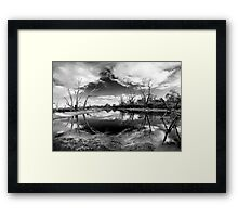 Diamond in the sky! Framed Print