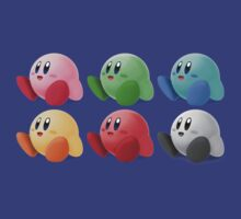 Kirby Colors T-Shirt