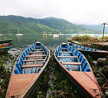 Lakeside - Pokhara by Niki Taxidis